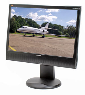 "Viewsonic VG2230wm 22"" Widescreen LCD Computer Display"